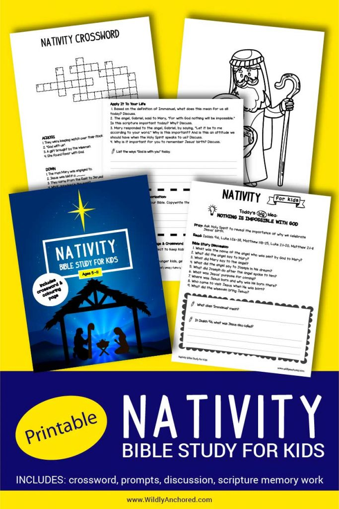 Help your kids study all about Christmas and the reason for the season... Jesus! Includes Bible reading, discussion questions, scripture writing, scripture memorization, activities and more! #ChristianBibleStudies #ChristianResources